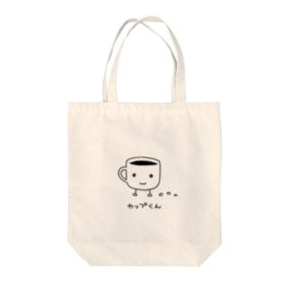 カップくん Tote bags