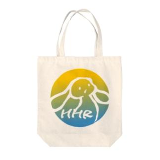 ミミタンのミミタン2000夏 黄-青 Tote bags