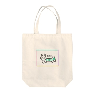 Babyアイテム(ネコ) Tote bags