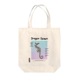 Dragon Spawn Tote bags