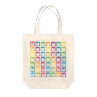レインボー☆おのちゃん Tote bags