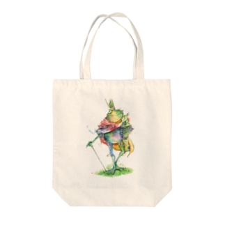 蛙の王 トートバッグ
