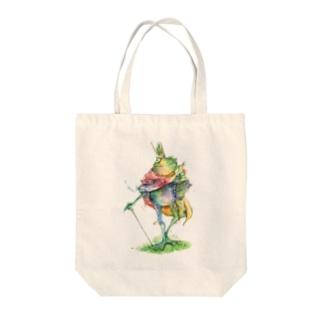 蛙の王 Tote bags