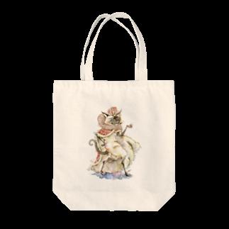 松野和貴の猫の王 トートバッグ