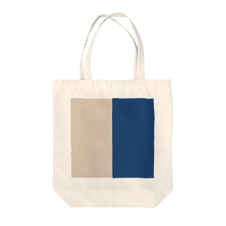classic blue × sand dollar Tote bags