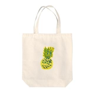 パイナップル〜7歳息子の年長時の作品〜 Tote bags