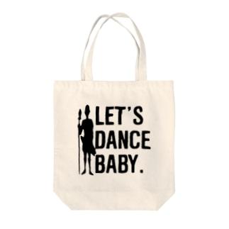 let's dance baby トートバッグ