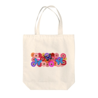 Flower & Butterfly Tote bags