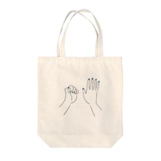nail Tote bags