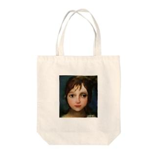 ℳ.画伯 Tote bags