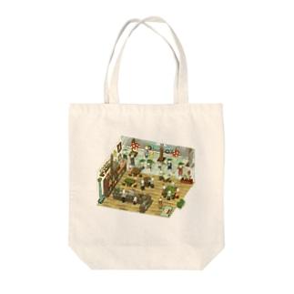 とりじんcafe Tote bags