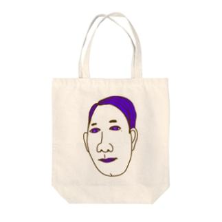 紫髪男(7・3分け) Tote bags