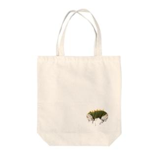 チワワ怪獣 Tote bags