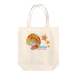 Taurus-おうし座-ハッピーベイビーハンズ- Tote bags