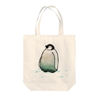 ペンギンくん Tote bags