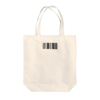 バーコード Tote bags