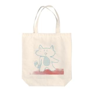 スーサイド・ねこ Tote bags