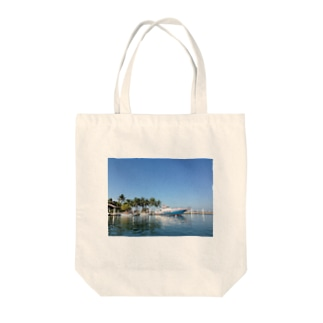 Local boats Tote bags