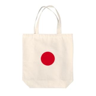 ヒノマル Tote bags