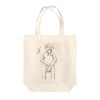 いたわりを求める僕の彼女は Tote bags
