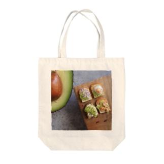 アボカドとアボトースト Tote bags