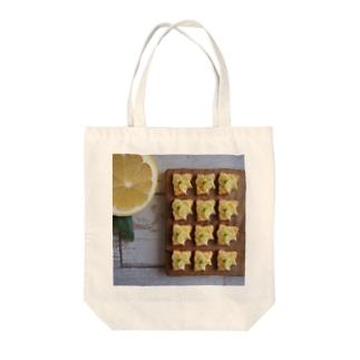 レモンとハニーレモントースト Tote bags