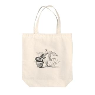モズライト Tote bags