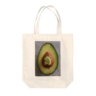 アボカドとアボカドトースト Tote bags