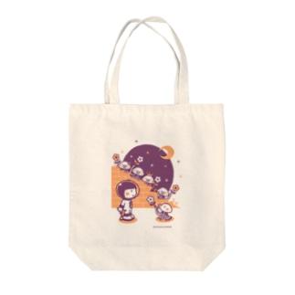 minimum universe / ミニマムユニヴァースのAstronauts - Mars Attacks! Tote bags