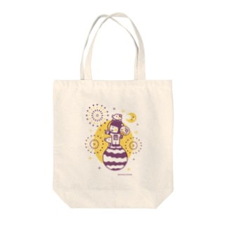 Astronauts - Fireworks Tote bags