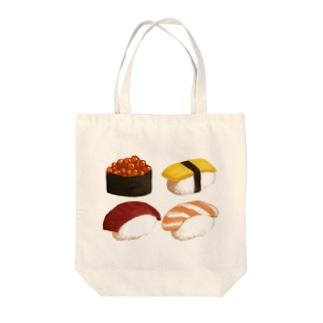 かわいい寿司 Tote bags