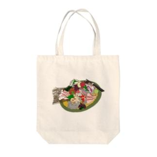 佐々木さんのお刺身 Tote bags
