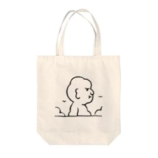 入道さんあらわる Tote bags
