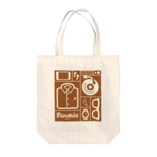 Brownies Works引き出し Tote bags