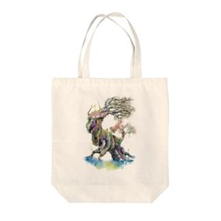 樹の王 Tote bags