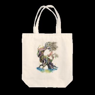 松野和貴の樹の王 Tote bags