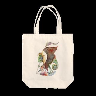 松野和貴のカメレオン王 Tote bags