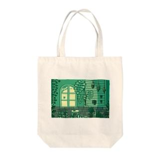 植物観察室 トートバッグ Tote bags