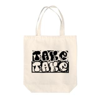 taketake Tote bags