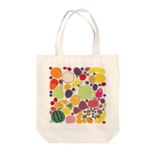 フルーツパラダイス Tote bags