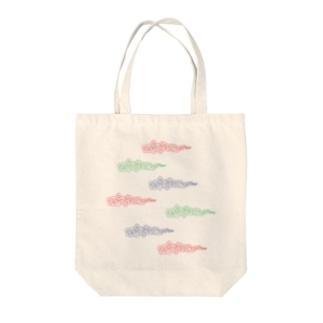 雲 Tote bags