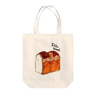 水彩イギリスパン トートバッグ