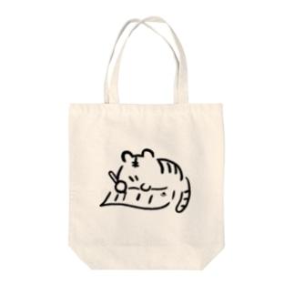 りちょ Tote bags