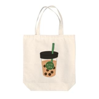 タピオカミルクティー Tote bags