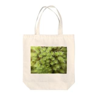 キュートなモス Tote bags