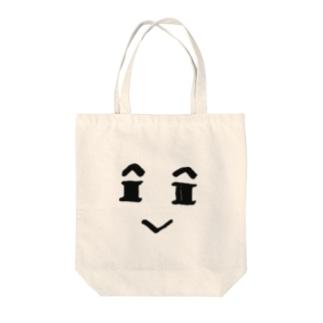 てんのかおのトートバッグ Tote bags