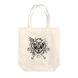 【AZ】CAT Tote bags