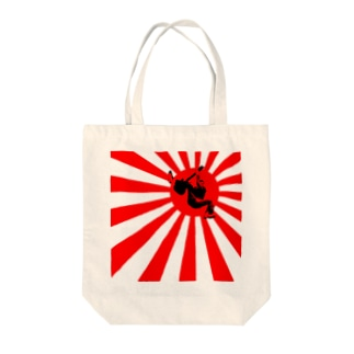 Japanese Flag トートバッグ Tote bags