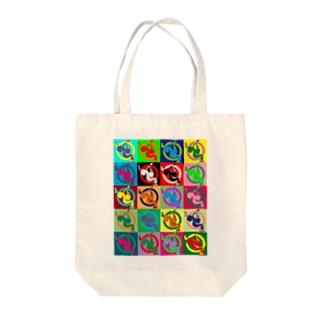 Symbols Taste Like Warhol トートバッグ Tote bags