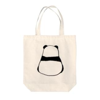 パンダ1 Tote bags